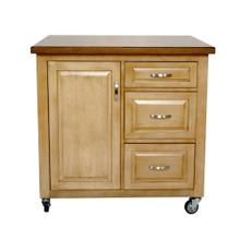 PK-CRT-04-PW  Brook Kitchen Cart