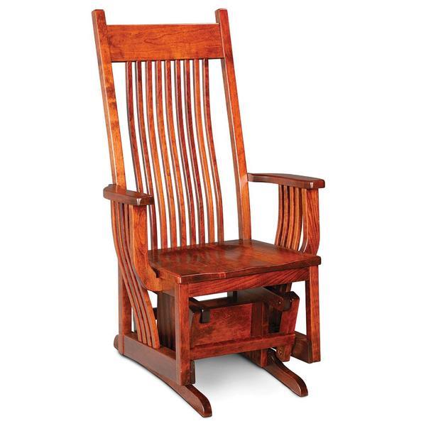 See Details - Oak Park Glider, Wood Seat