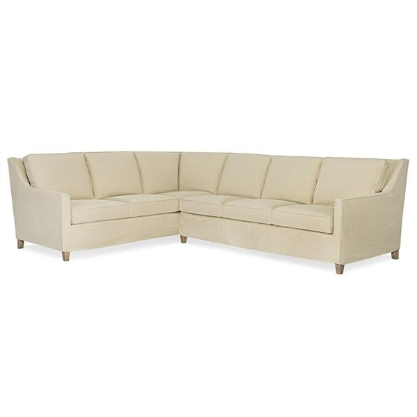 See Details - Slipcovered Sectional