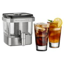 28 oz Cold Brew Coffee Maker - Brushed Stainless Steel