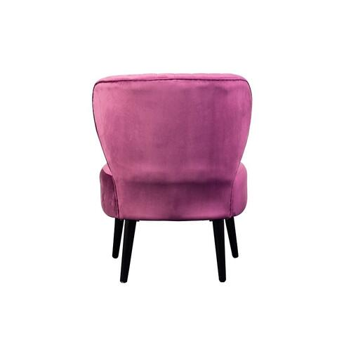 Lolita Purple Accent Chair, AC1845