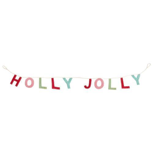 """82""""x 0.5""""x 5.25"""" Holly Garland"""