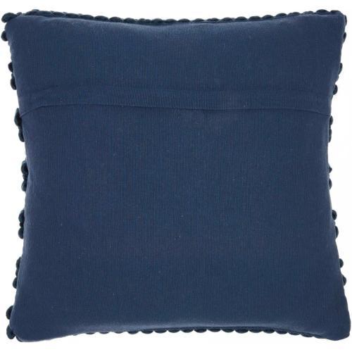 "Life Styles Dc827 Navy 20"" X 20"" Throw Pillow"