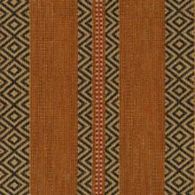 Mayan Path Cocoa Fabric
