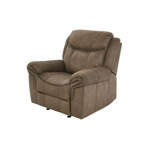 Gallery - Knoxville Manual Motion Glider Recliner, Mocha