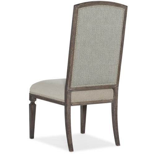 Woodlands Arched Upholstered Side Chair - 2 per carton/price ea
