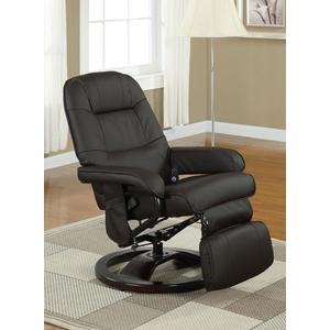 Gallery - Massage Chair, Faux leather Brown