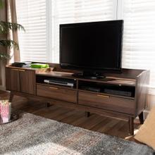 Baxton Studio Mid-century Modern 2-drawer TV Stand