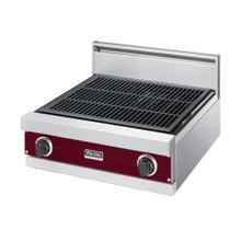 "Burgundy 24"" Gas Char-Grill - VGQT (24"" wide char-grill)"