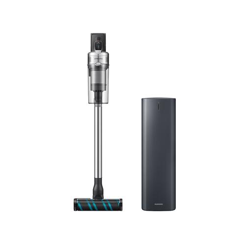 Samsung - Samsung Jet™ 90 Complete Cordless Stick Vacuum with Dual Charging Station and Samsung Clean Station™