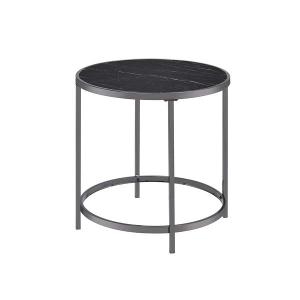 See Details - Rayne End Table, Black