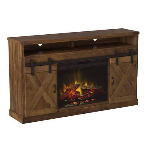 "Farmhouse 66"" Fireplace Console AWY"