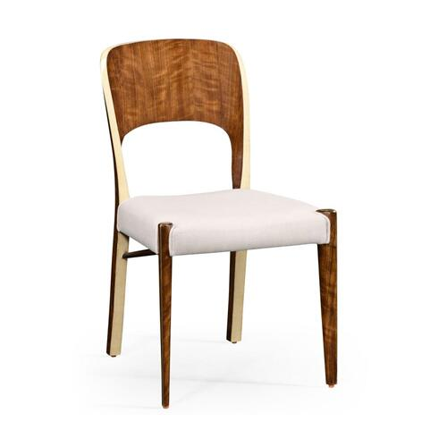 Hyedua wood side chair
