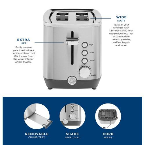 GE Appliances - GE 2-Slice Toaster
