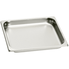 Full Size Stainless Steel Pan - Unperforated GN114230