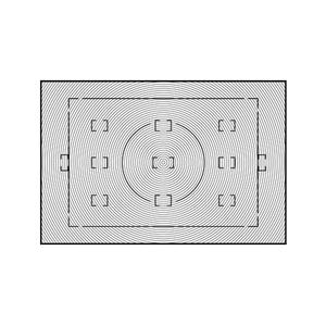 Type V III Focusing Screen
