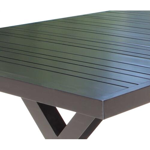 "Milano 72"" x 40"" Rectangular Dining Table"