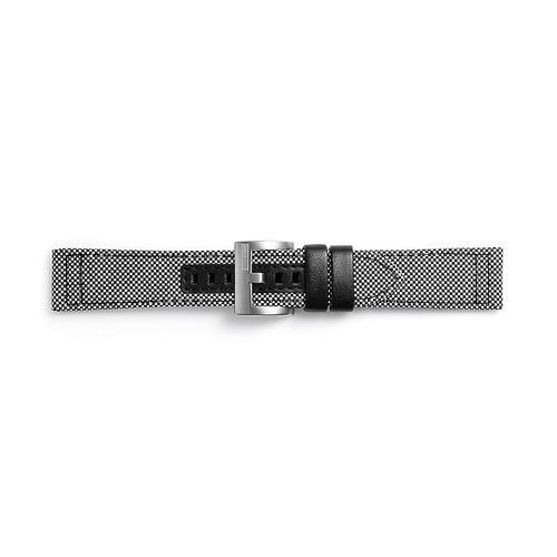 Kvadrat Textil Band for Galaxy Watch 46mm & Gear S3, Grey