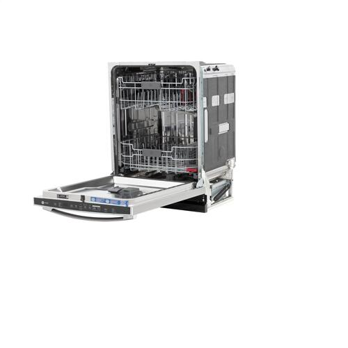 GE Profile™ Smart Stainless Steel Interior Fingerprint Resistant Dishwasher with Hidden Controls