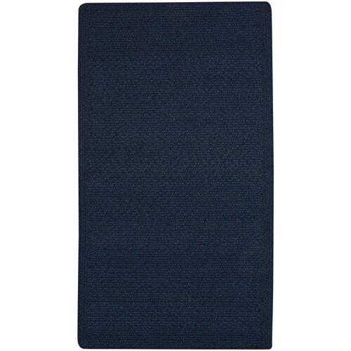 Heathered Pinwheel Navy Blue Solid