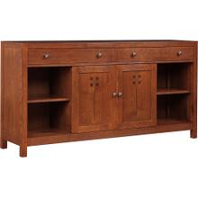 66 Wide, Oak Highlands Entertainment Console