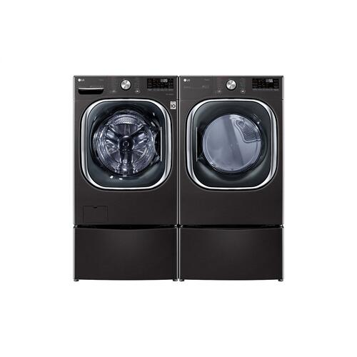 7.4 cu. ft. Ultra Large Capacity Smart wi-fi Enabled Front Load Electric Dryer with TurboSteam™ and Built-In Intelligence