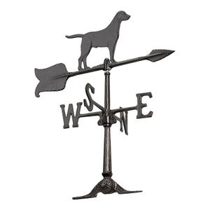 "24"" Retriever Weathervane Product Image"