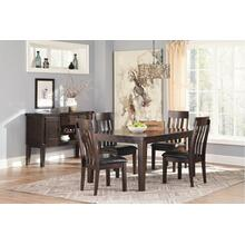Haddigan Dining Table and 4 Chairs