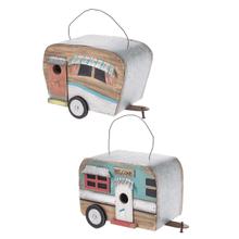 Camper Birdhouses (4 pc. ppk.)