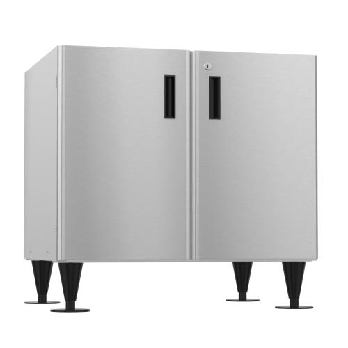 SD-750, Icemaker/Dispenser Stand with Lockable Doors