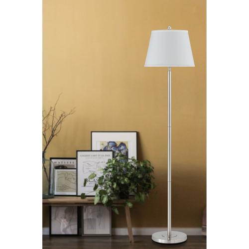 150W 3Way Andros Metal Floor Lamp