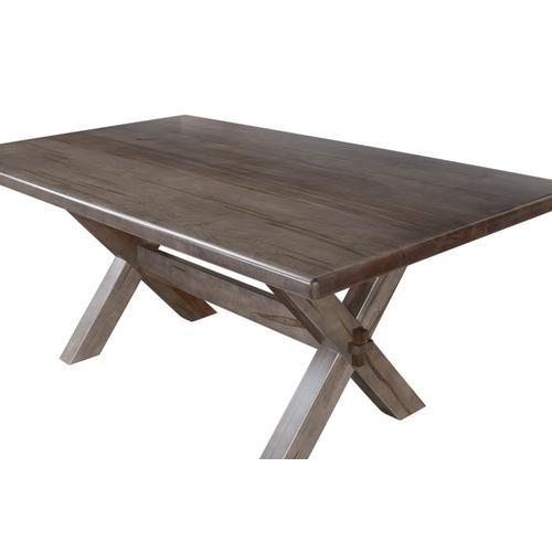 Bassett Furniture - Crossbuck Maple Dining Table