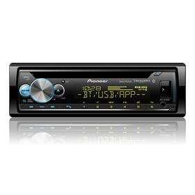CD Receiver with enhanced Audio Functions, Pioneer Smart Sync App Compatibility, MIXTRAX®, Built-in Bluetooth®, and SiriusXM-Ready