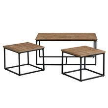 View Product - Ridgewood 3-Pack Occasional Tables, Brown