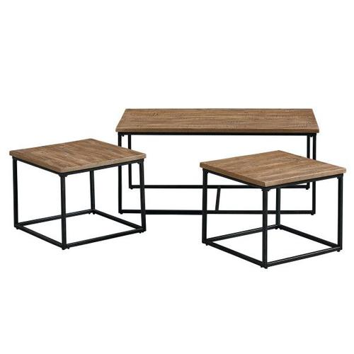 Gallery - Ridgewood 3-Pack Occasional Tables, Brown