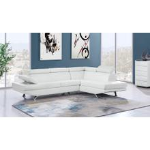 See Details - U9782 WHITE SECTIONAL