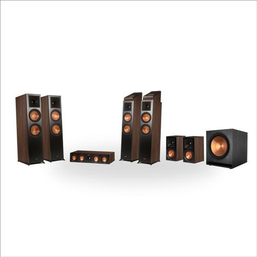 Klipsch - RP-8060FA 7.1.4 Dolby Atmos® Home Theater System - Walnut