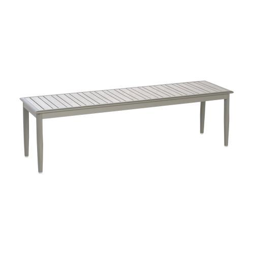 "Sofia 85"" Aluminum Dining Bench"
