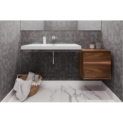 Floating sink With Decorative Trim
