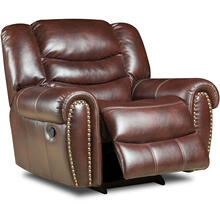 Cambridge Lancaster Glider Recliner, 98502GR-BU
