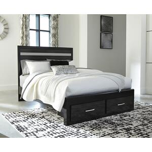 Starberry Queen Storage Footboard