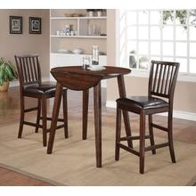 See Details - Mango Counter 3PC - Table With 2 Pub Chairs