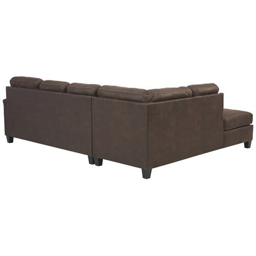 Signature Design By Ashley - Navi 2-piece Sleeper Sectional With Chaise