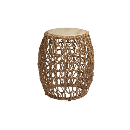 Madrid Woven Accent Table