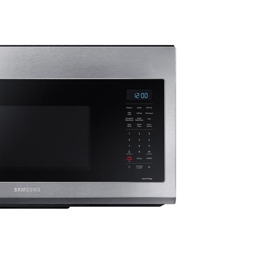 1.7 cu ft. Smart Over-the-Range Microwave with Convection & Slim Fry™ in Stainless Steel