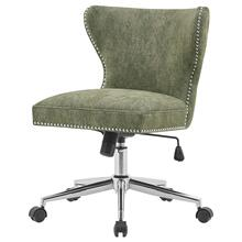 Hazel KD Fabric Office Chair, Smash Green