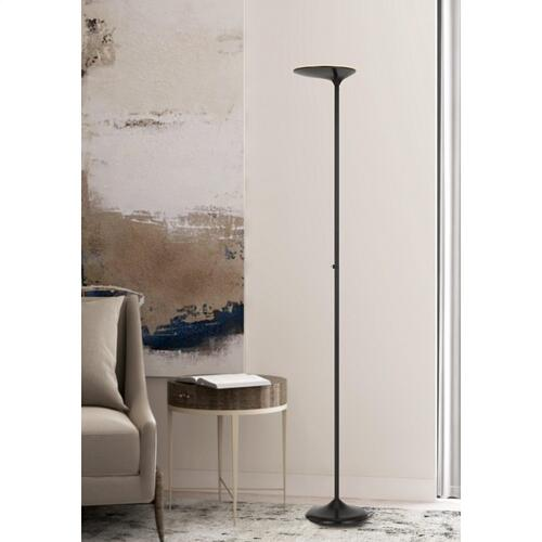 Foggia integrated Dimmable LED Metal Torchiere