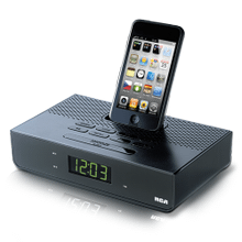 Dual wake docking station for iPhone and iPod