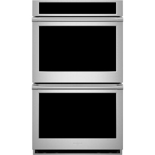 "Monogram 30"" Smart Electric Convection Double Wall Oven Statement Collection"