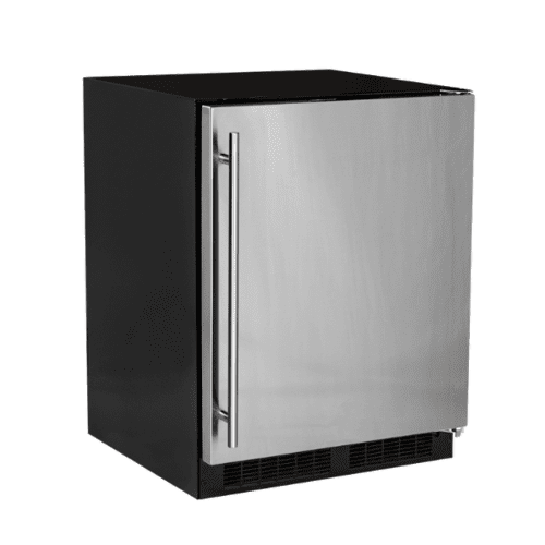 Marvel - 24-In Low Profile Built-In High-Capacity Refrigerator with Door Style - Stainless Steel